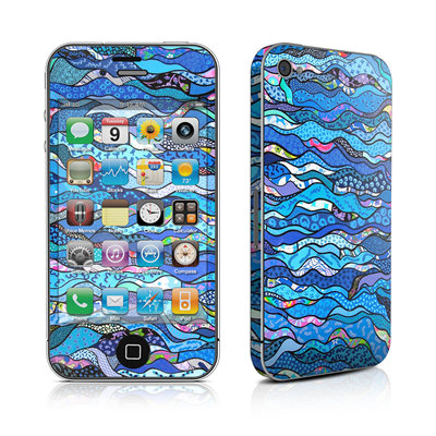 iPhone 4 Skin - The Blues