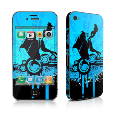 iPhone 4 Skin - The DJ