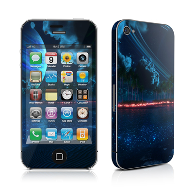 iPhone 4 Skin - Thetis Nightfall