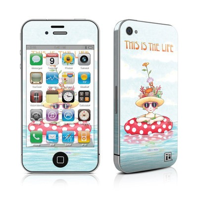 iPhone 4 Skin - This Is The Life