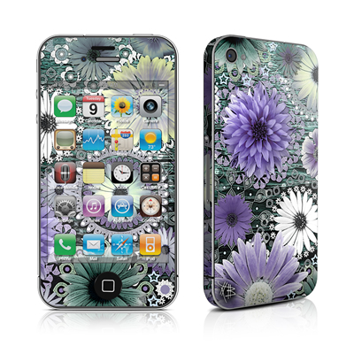 iPhone 4 Skin - Tidal Bloom