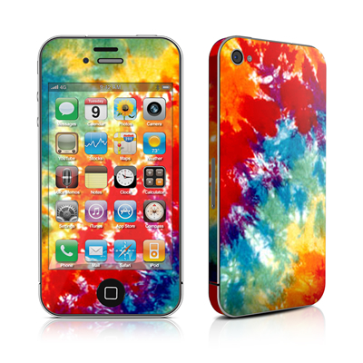 iPhone 4 Skin - Tie Dyed