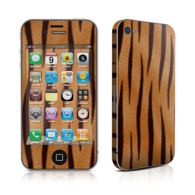 iPhone 4 Skin - Tiger Stripes