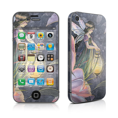 iPhone 4 Skin - Twilight Lilies