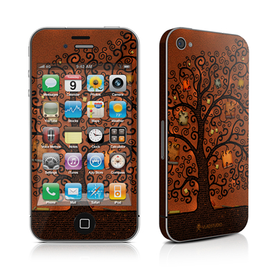 iPhone 4 Skin - Tree Of Books
