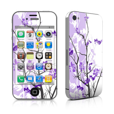 iPhone 4 Skin - Violet Tranquility