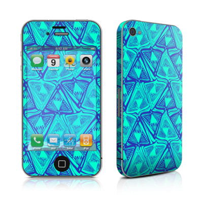 iPhone 4 Skin - Tribal Beat