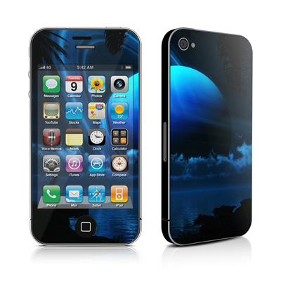 iPhone 4 Skin - Tropical Moon