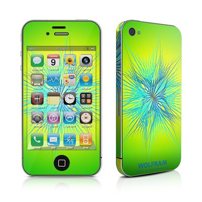 iPhone 4 Skin - Tube Stellations