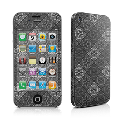 iPhone 4 Skin - Tungsten