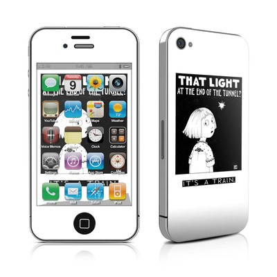 iPhone 4 Skin - Train Tunnel