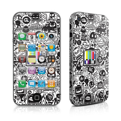 iPhone 4 Skin - TV Kills Everything
