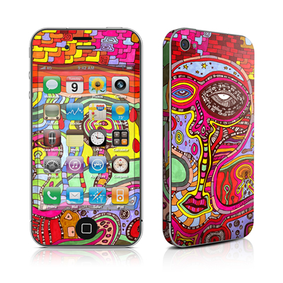 iPhone 4 Skin - The Wall