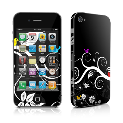 iPhone 4 Skin - Tweet Dark