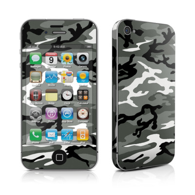 iPhone 4 Skin - Urban Camo
