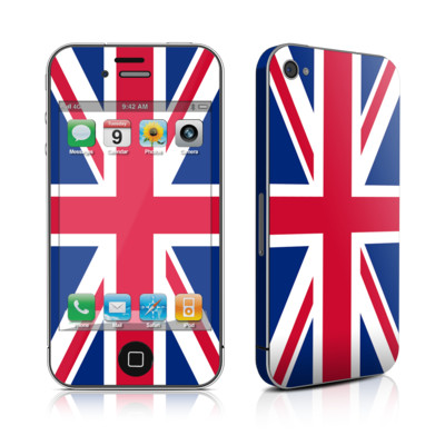 iPhone 4 Skin - Union Jack
