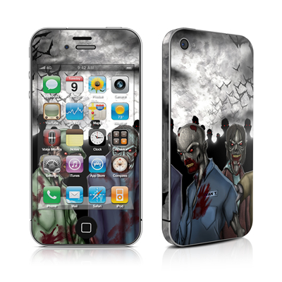 iPhone 4 Skin - Undead