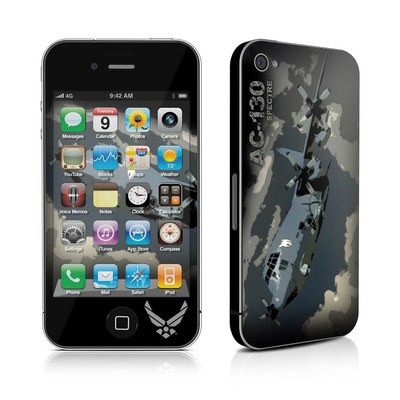 iPhone 4 Skin - AC-130