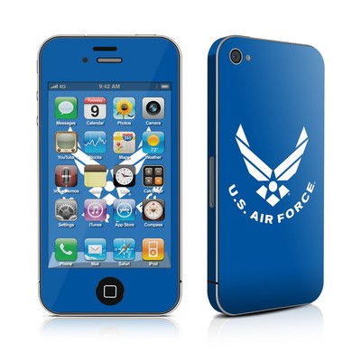 iPhone 4 Skin - USAF Blue