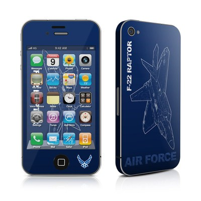 iPhone 4 Skin - F-22 Raptor