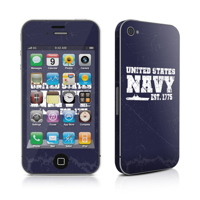 iPhone 4 Skin - USN 1775