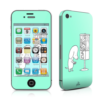 iPhone 4 Skin - Vending