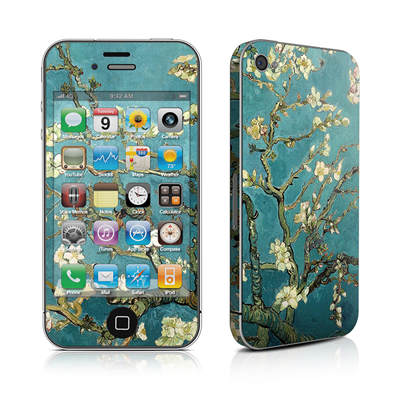 iPhone 4 Skin - Blossoming Almond Tree