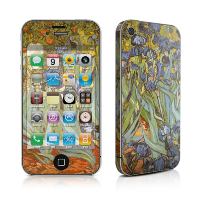 iPhone 4 Skin - Irises