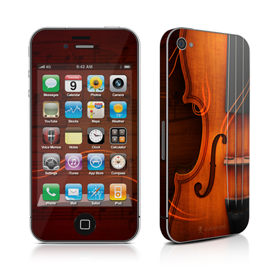 iPhone 4 Skin - Violin