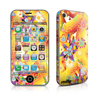 iPhone 4 Skin - Wall Flower