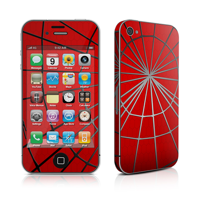iPhone 4 Skin - Webslinger