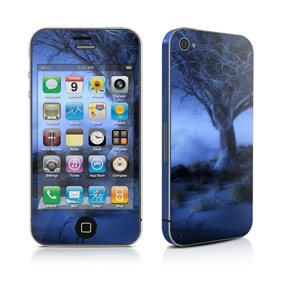 iPhone 4 Skin - World's Edge Winter