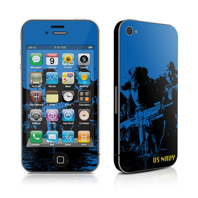 iPhone 4 Skin - Water Heist
