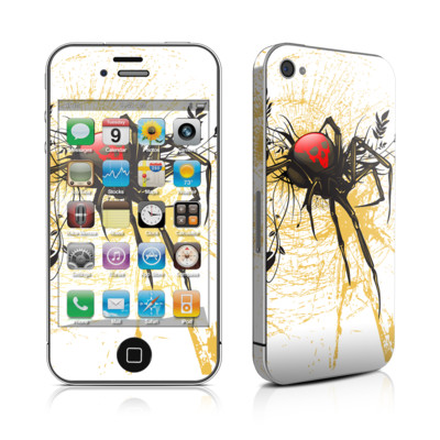 iPhone 4 Skin - Widow
