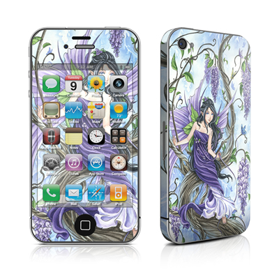 iPhone 4 Skin - Wisteria
