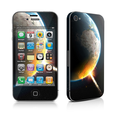 iPhone 4 Skin - World Killer