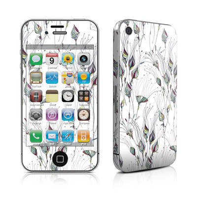 iPhone 4 Skin - Wildflowers
