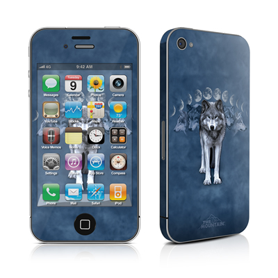 iPhone 4 Skin - Wolf Cycle