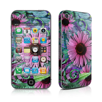 iPhone 4 Skin - Wonder Blossom