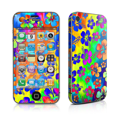 iPhone 4 Skin - Wild Summer