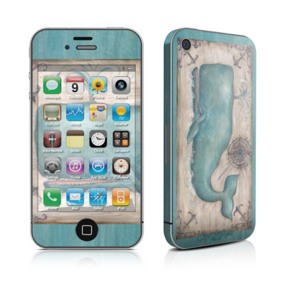 iPhone 4 Skin - Whale Watch