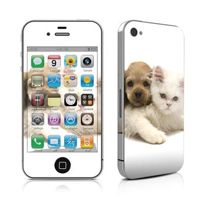 iPhone 4 Skin - Young Love