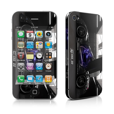 iPhone 4 Skin - Z33 Dark