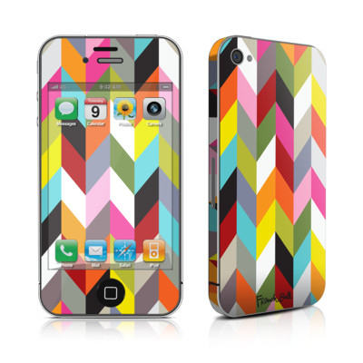 iPhone 4 Skin - Ziggy Condensed