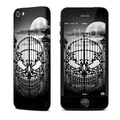 Apple iPhone 5 Skin - Abandon Hope