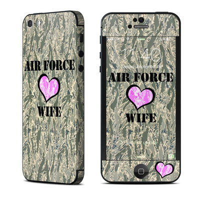 Apple iPhone 5 Skin - Air Force Wife