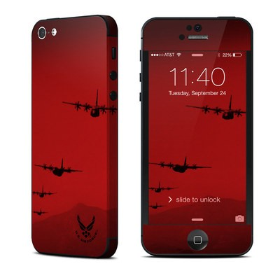Apple iPhone 5 Skin - Air Traffic