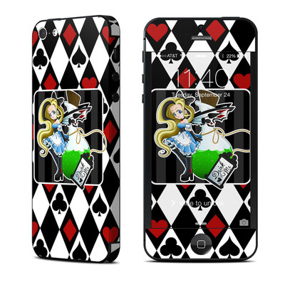 Apple iPhone 5 Skin - Alice