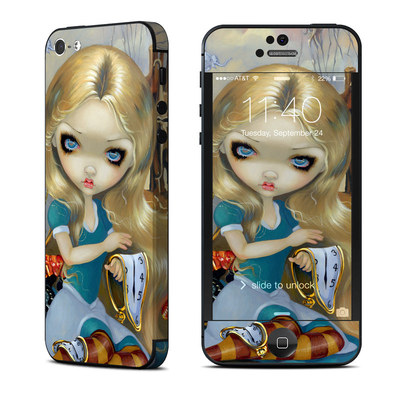 Apple iPhone 5 Skin - Alice in a Dali Dream