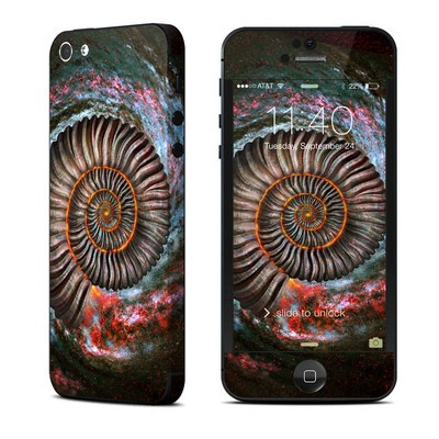 Apple iPhone 5 Skin - Ammonite Galaxy